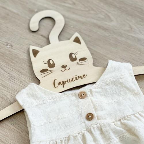 Cintre chat pour bébé