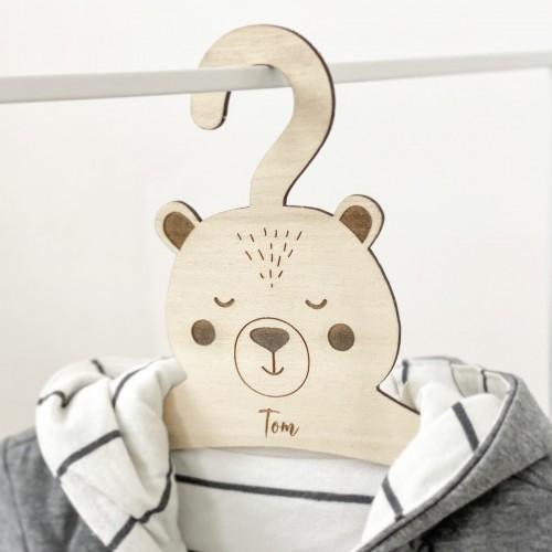 Cintre ours pour bébé